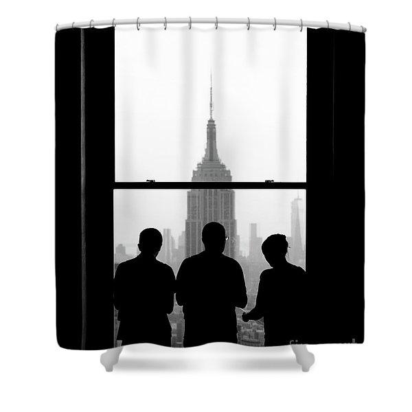 Careful Observation Shower Curtain