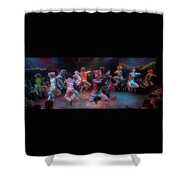 Cats In The Air Shower Curtain
