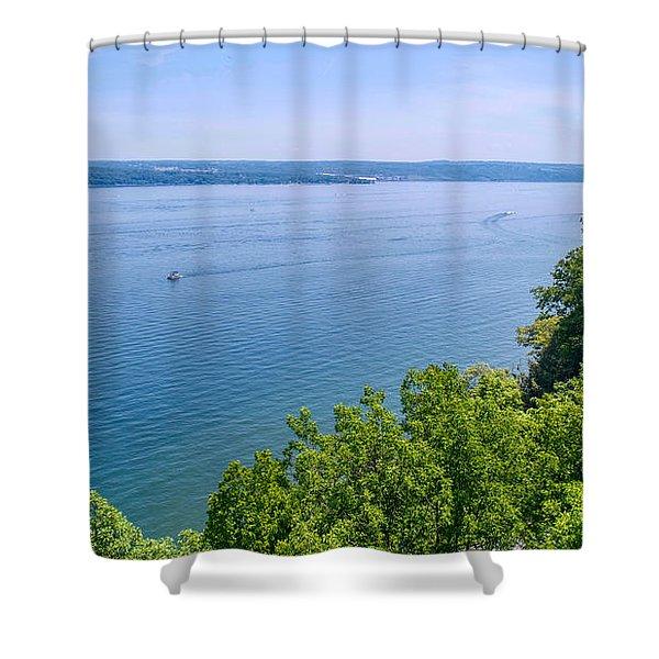 Cayuga Lake Shower Curtain