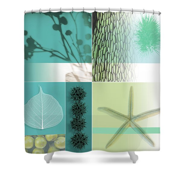 Cipher I Shower Curtain