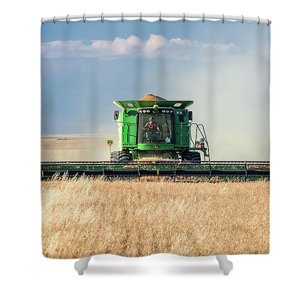 Combine Through Shower Curtain