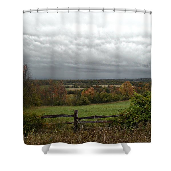 Corners Of Collingwood Shower Curtain