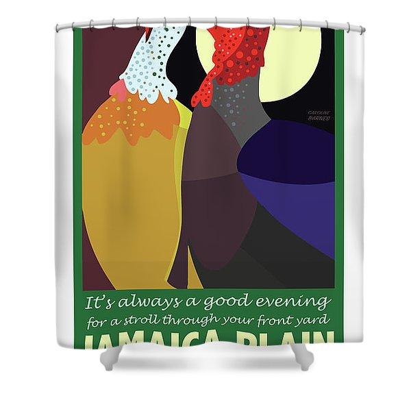 Date Night Jp Shower Curtain