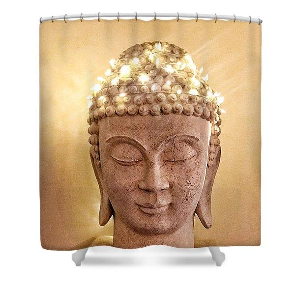 Dawn Buddha Shower Curtain