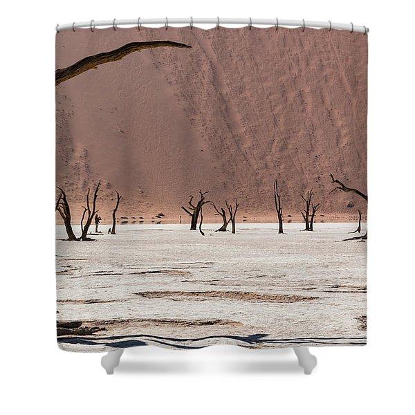 Deadvlei Desert Shower Curtain