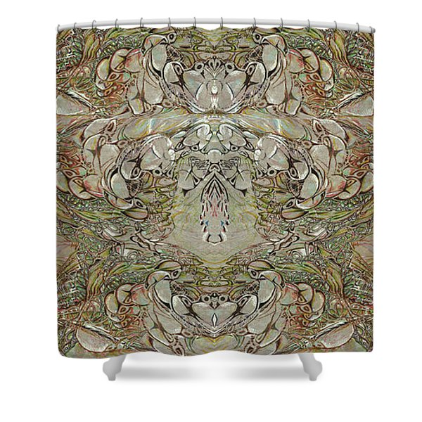 Desert Wall Shower Curtain