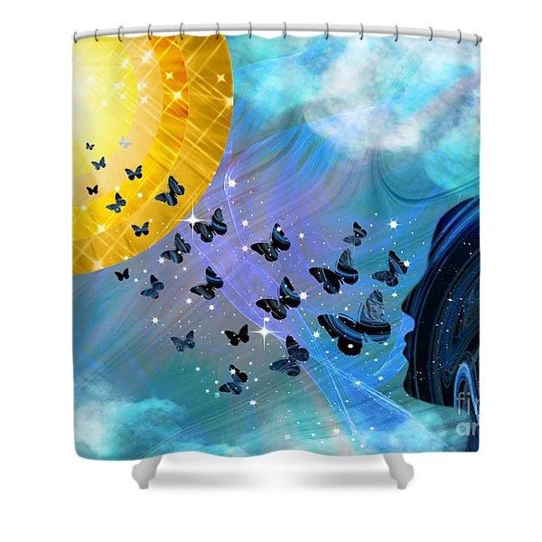 Destiny #2 Shower Curtain