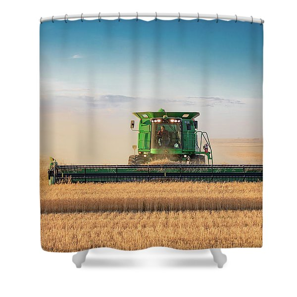 End Of The Field Shower Curtain
