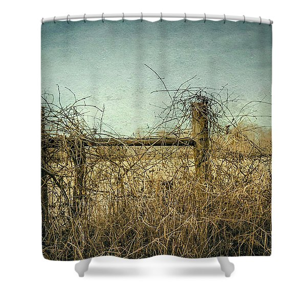 Faded Beauty Shower Curtain