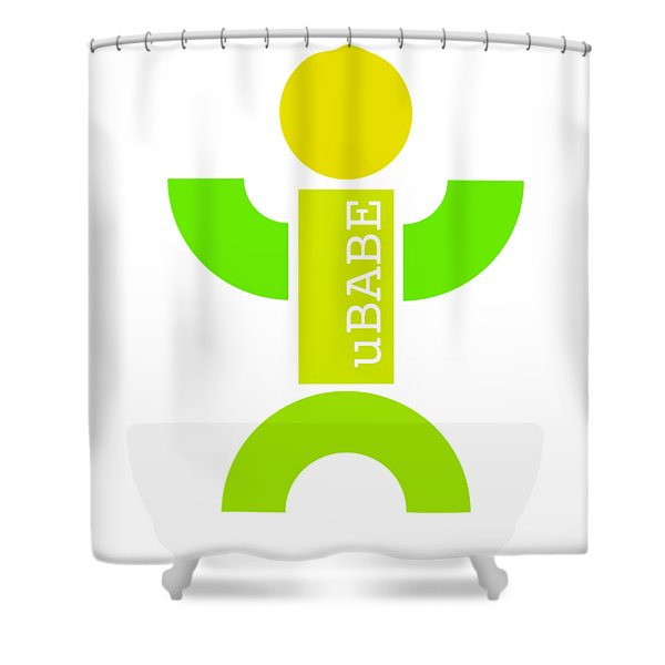Green Style Shower Curtain