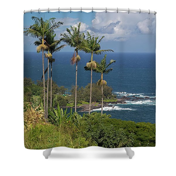 Hawaii Big Island Shower Curtain