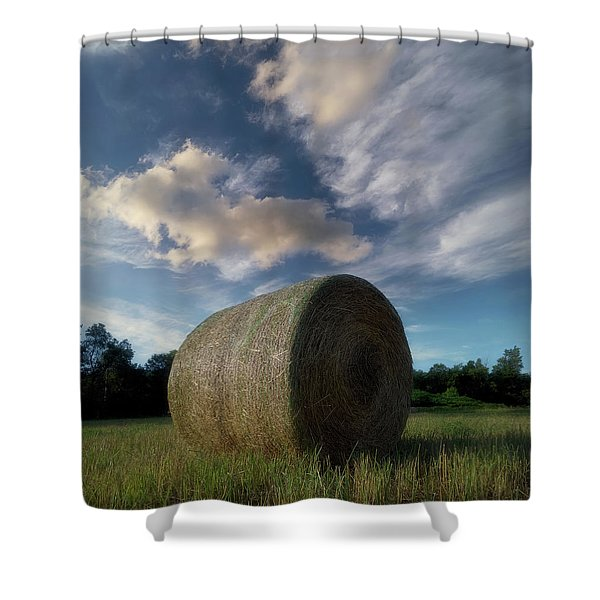 Hay Bale 2 Shower Curtain