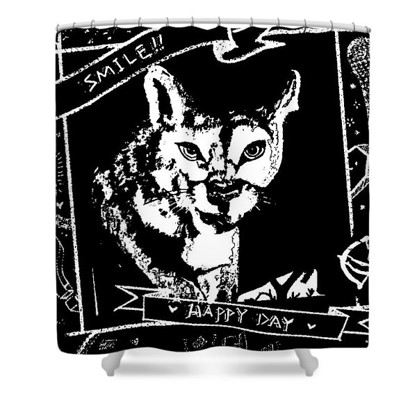 Hungry Cougar Shower Curtain