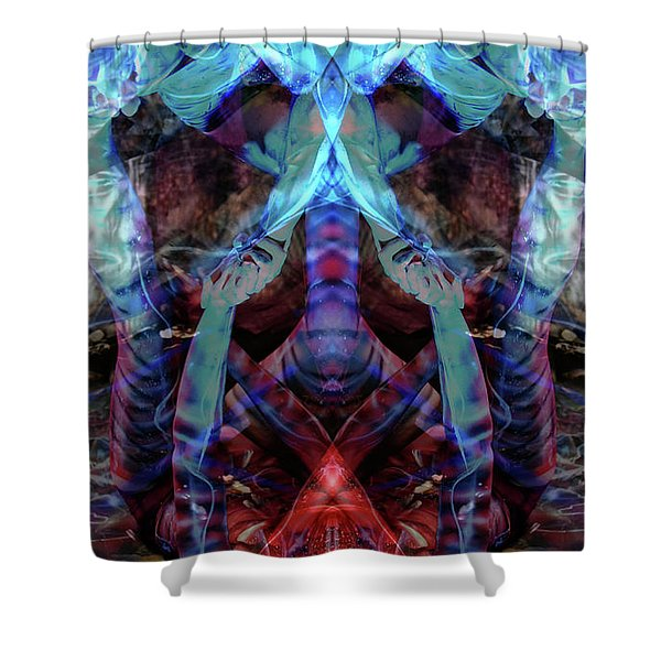 Inside Out Shower Curtain