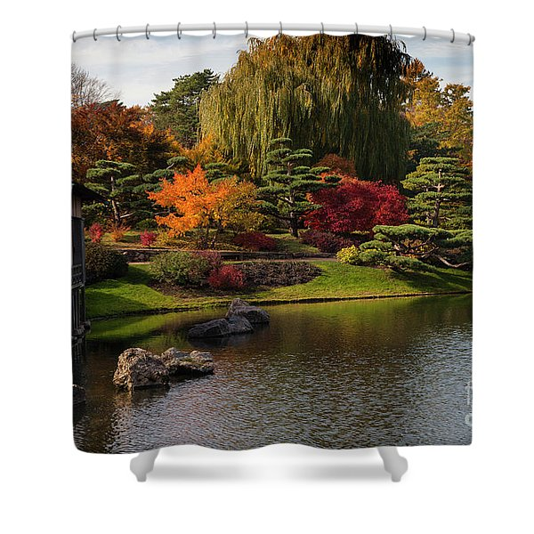 Japanese Gardens Shower Curtain