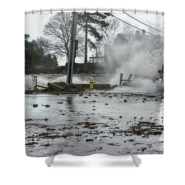 Jeep Splash Shower Curtain