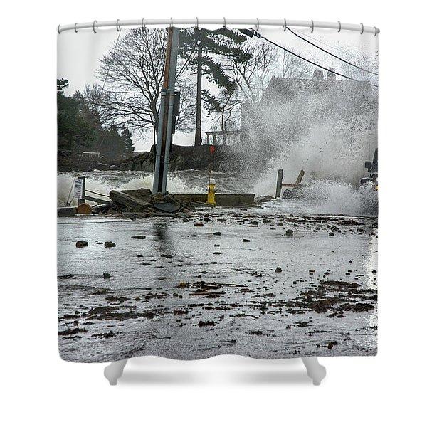Jeep Splash Shower Curtain