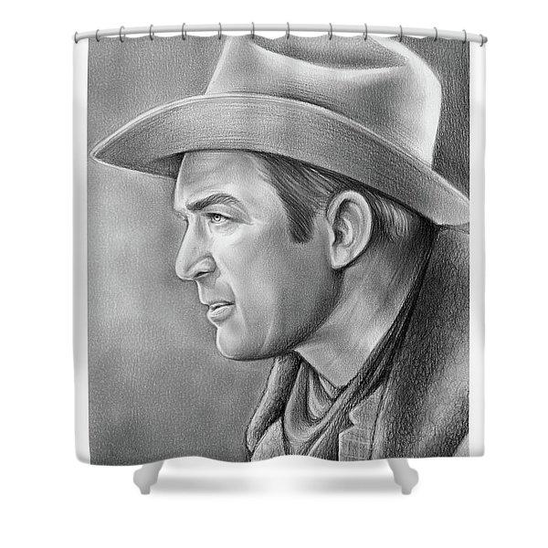 Jimmy Stewart Shower Curtain