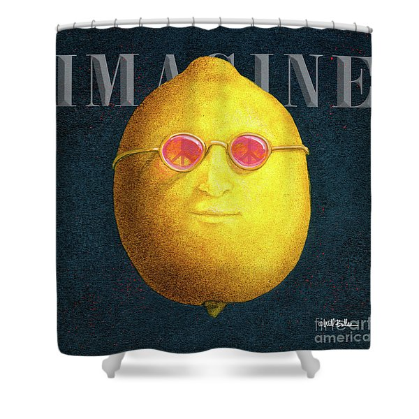 John Lemon... Shower Curtain