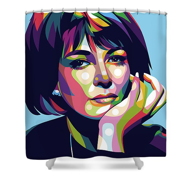 Lee Grant Shower Curtain