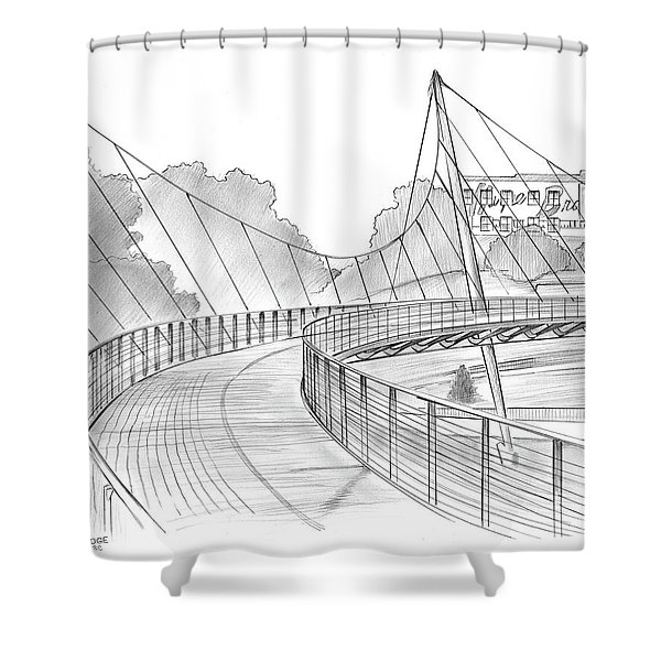 Liberty Bridge Shower Curtain