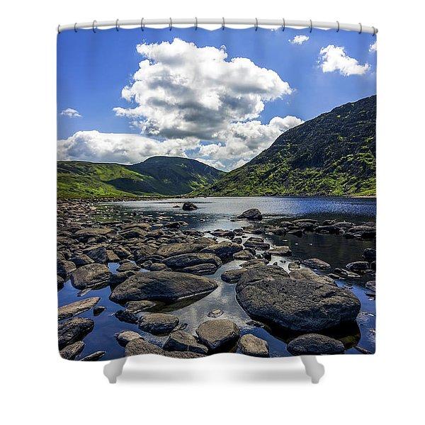 Llyn Eigiau Shower Curtain