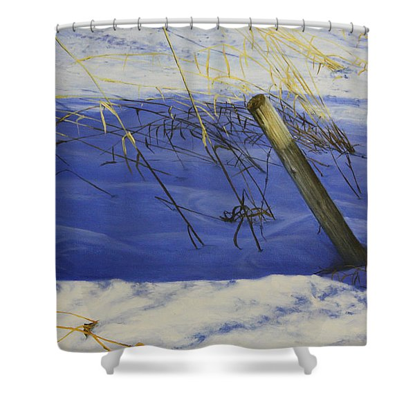 Lonely Relic Shower Curtain