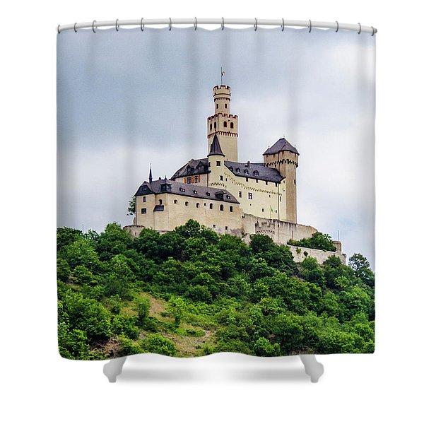 Marksburg Castle - 2 Shower Curtain