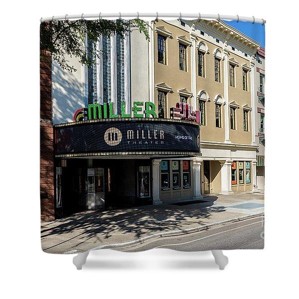Miller Theater Augusta Ga Shower Curtain