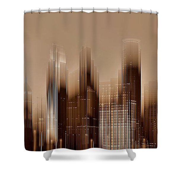 Minneapolis 2 Shower Curtain