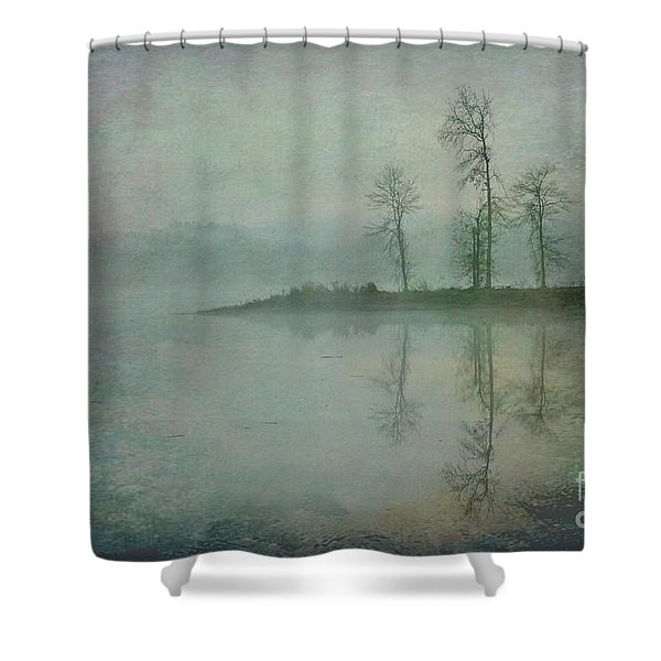 Misty Tranquility Shower Curtain