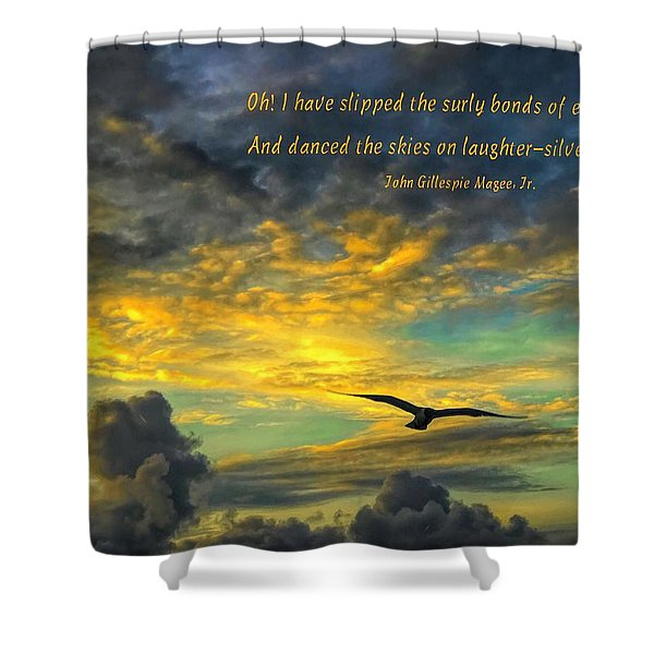 Morning Flight Shower Curtain
