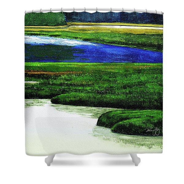 Mt Desert Island Shower Curtain