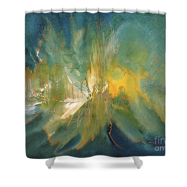 Mystic Music Shower Curtain
