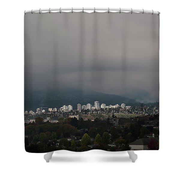 North Vancouver  Shower Curtain