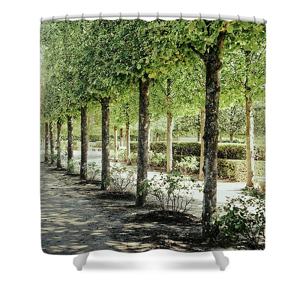 Parisian Stroll I Shower Curtain