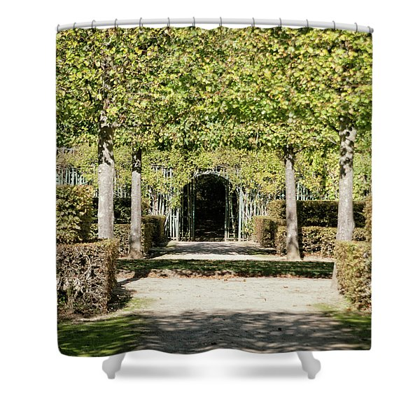 Parisian Stroll II Shower Curtain