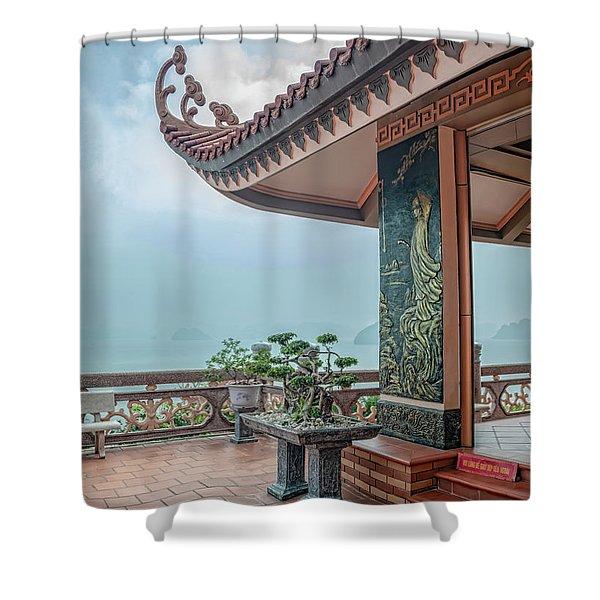 Cai Bay Padoga Shower Curtain