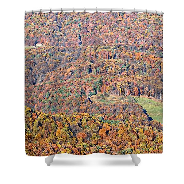 Rainbow Valley Shower Curtain