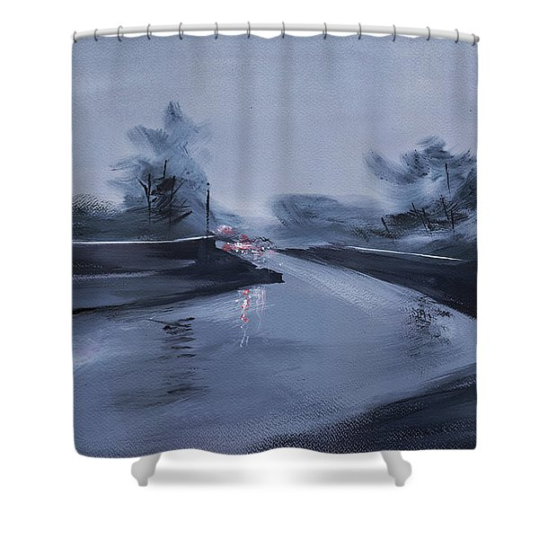 Rainy Day New Shower Curtain