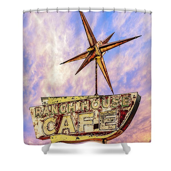 Ranch House Cafe Shower Curtain