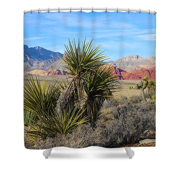 Red Rock Canyon National Conservation Area Shower Curtain