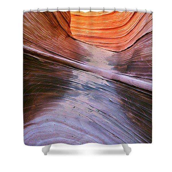 Rock Formations, Vermillion Cliffs Shower Curtain