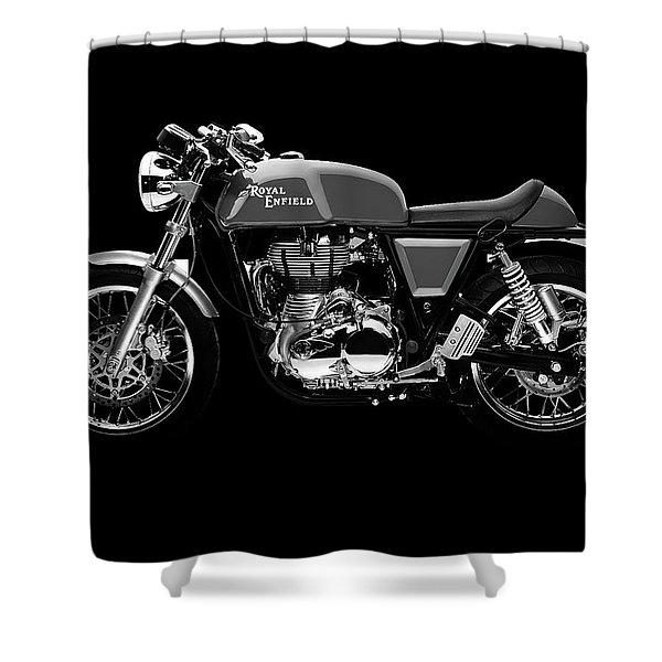 Royal Enfield Continental Gt Shower Curtain