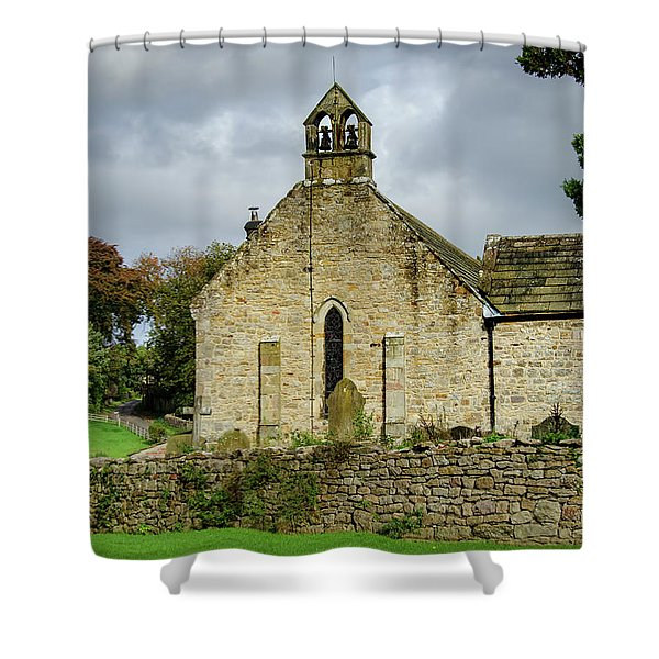 Saint Agathas Church Shower Curtain