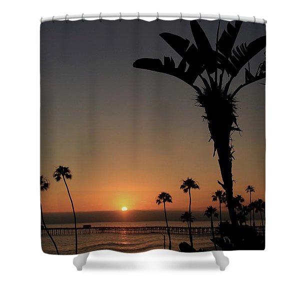 San Clemente Sunset Shower Curtain