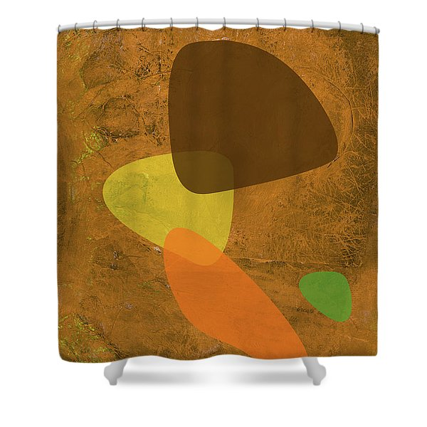 Shapes II Shower Curtain