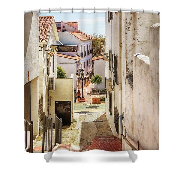 spring season, Spain Shower Curtain