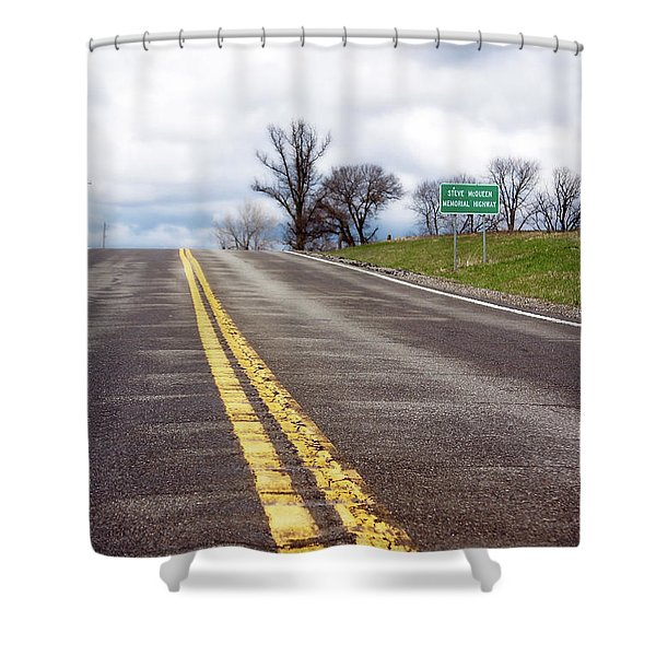 Steve Mcqueen  Destination Shower Curtain