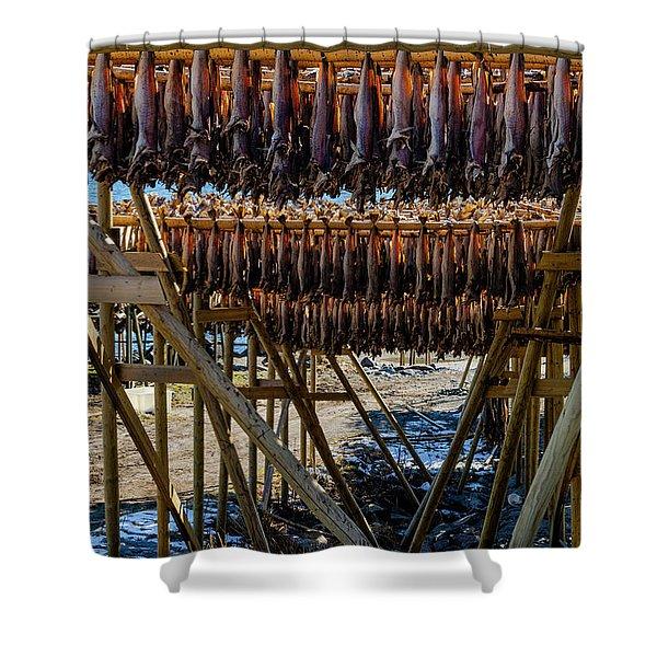 Stockfish Shower Curtain